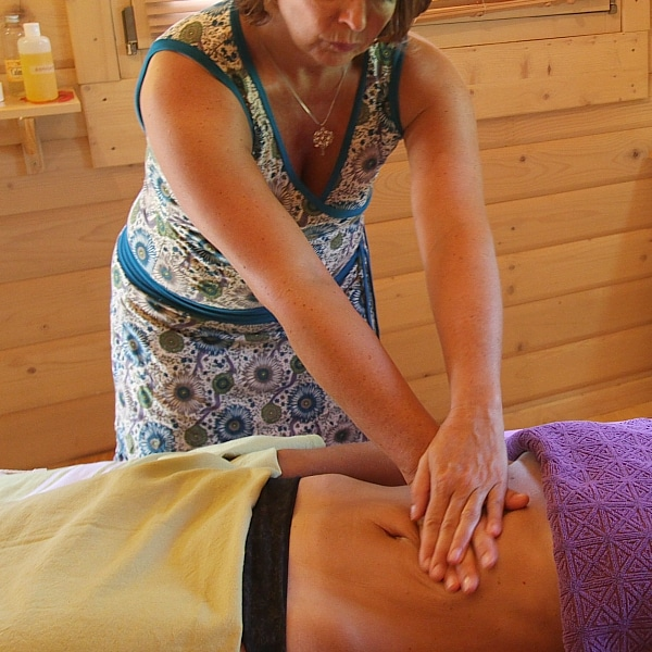 massage du ventre